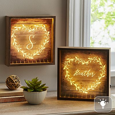 Heart Vine Light Box