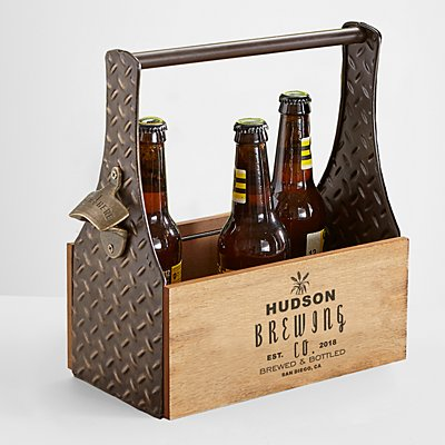 Barley Wooden Beer Holder
