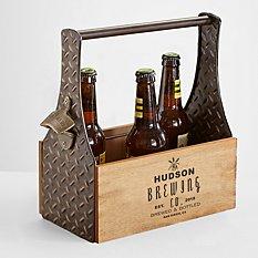 Barley Wooden Beer Holder