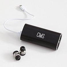 Wireless Headphones + Charging Bank
