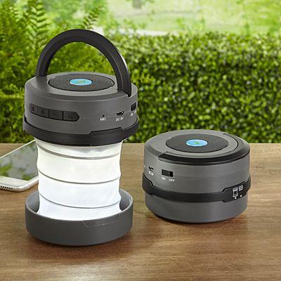 2-in-1 Pop-Up Lantern + Bluetooth Speaker