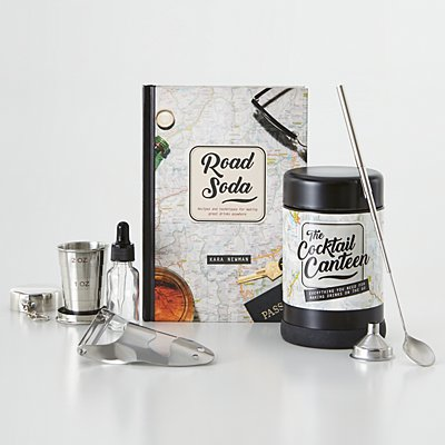 Travel Cocktail Canteen Set