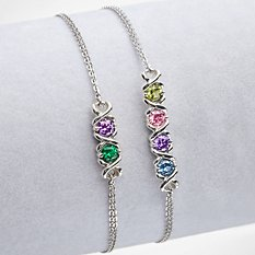 XO Birthstone Bracelet