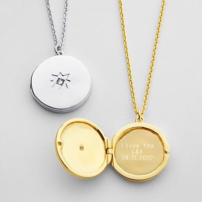Hidden Message Locket