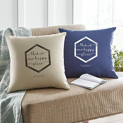 Our Happy Place Cushion