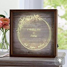 A Mother's Love Light Box