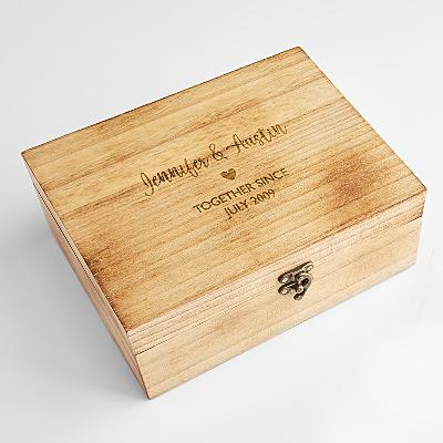 Couple's Keepsake Box
