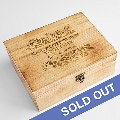 Our Adventures Together Keepsake Box