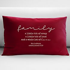 Our Family Is Pillow