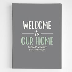 Welcome To Our Home Wall Art