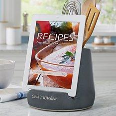 Ceramic Utensil Holder + Tablet Stand