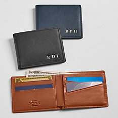 Men's Anti-Theft Leather Wallet