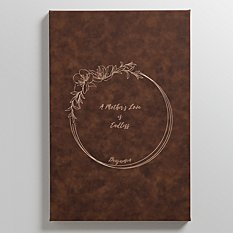 A Mother's Love Leather Wall Art
