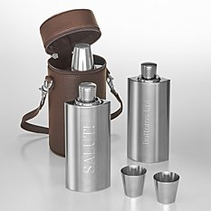 Down The Hatch Travel Flask Set
