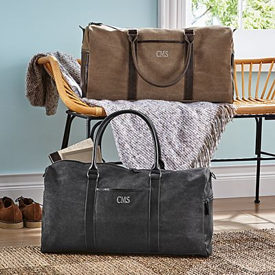 Men's Waxed Canvas Duffle