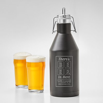 Beer Me Stainless Steel Growler