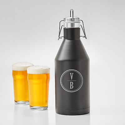 Monogram Stainless Steel Growler
