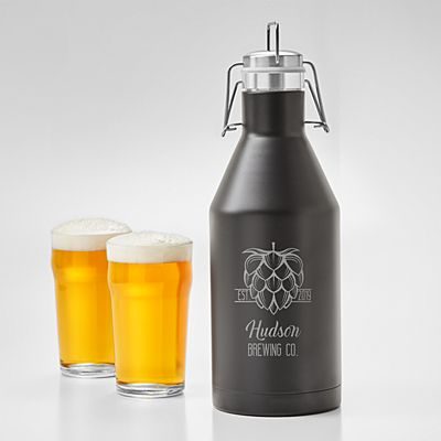 The Hopologist Stainless Steel Growler