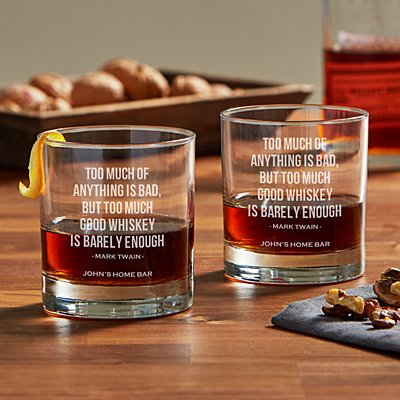 Whisky Lovers Glass Set