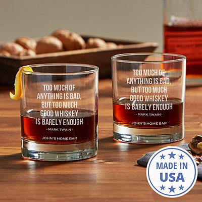 Whiskey Lovers Glass Set