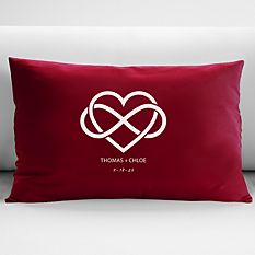 Our Love is Infinite Throw Pillow