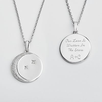 Written In The Stars Diamond Necklace