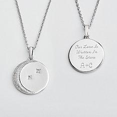 Written In The Stars Diamond Necklace