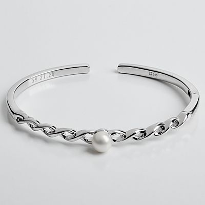 Always and Forever Pearl Cuff