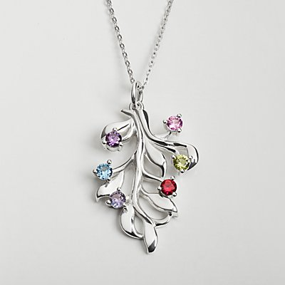 Rooted in Love Birthstone Necklace