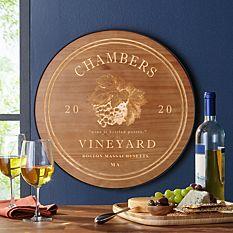 Vineyard Wine Cellar Sign