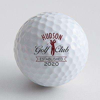 Golf Club Golf Balls - Set of 12