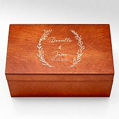 For the Couple Ring Holder Keepsake Box