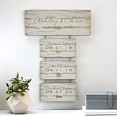 Building Our Story Wood Wall Art
