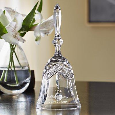 Galway Crystal Anniversary Keepsake Bell