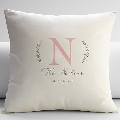 Name and Initial Cushion