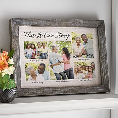 This is Our Story Barnwood Framed Art