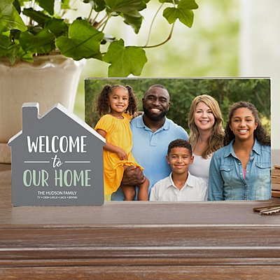 Welcome to Our Family Wood House Frame