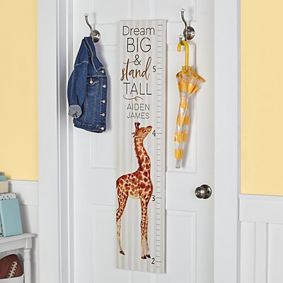 Dream Big Wooden Growth Chart