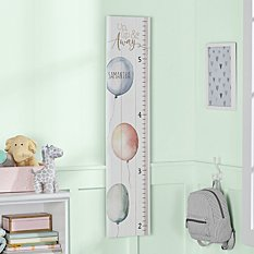 Up, Up and Away Wooden Growth Chart
