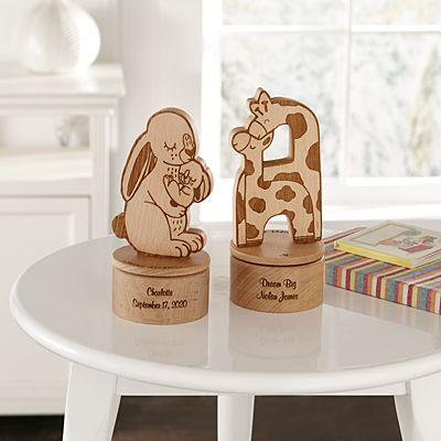 Wood Animal Keepsake Music Box