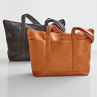 Genuine Leather Tote
