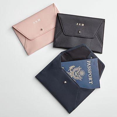 Leather Envelope Travel Organizer