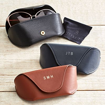 Leather Sunglass Carrying Case