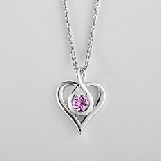 Endless Love Gemstone Necklace