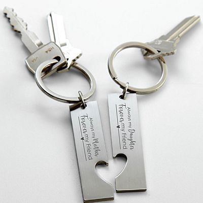 Forever My Friend Key Chain Set