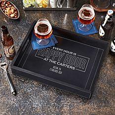Happy Hour Bar Tray