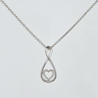 Infinite Love Diamond Necklace