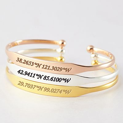 A Moment in Time Coordinates Bangle