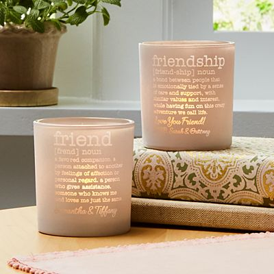 Friendship LED Votive Set