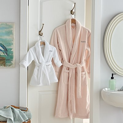 Mommy & Me Plush Robe Set